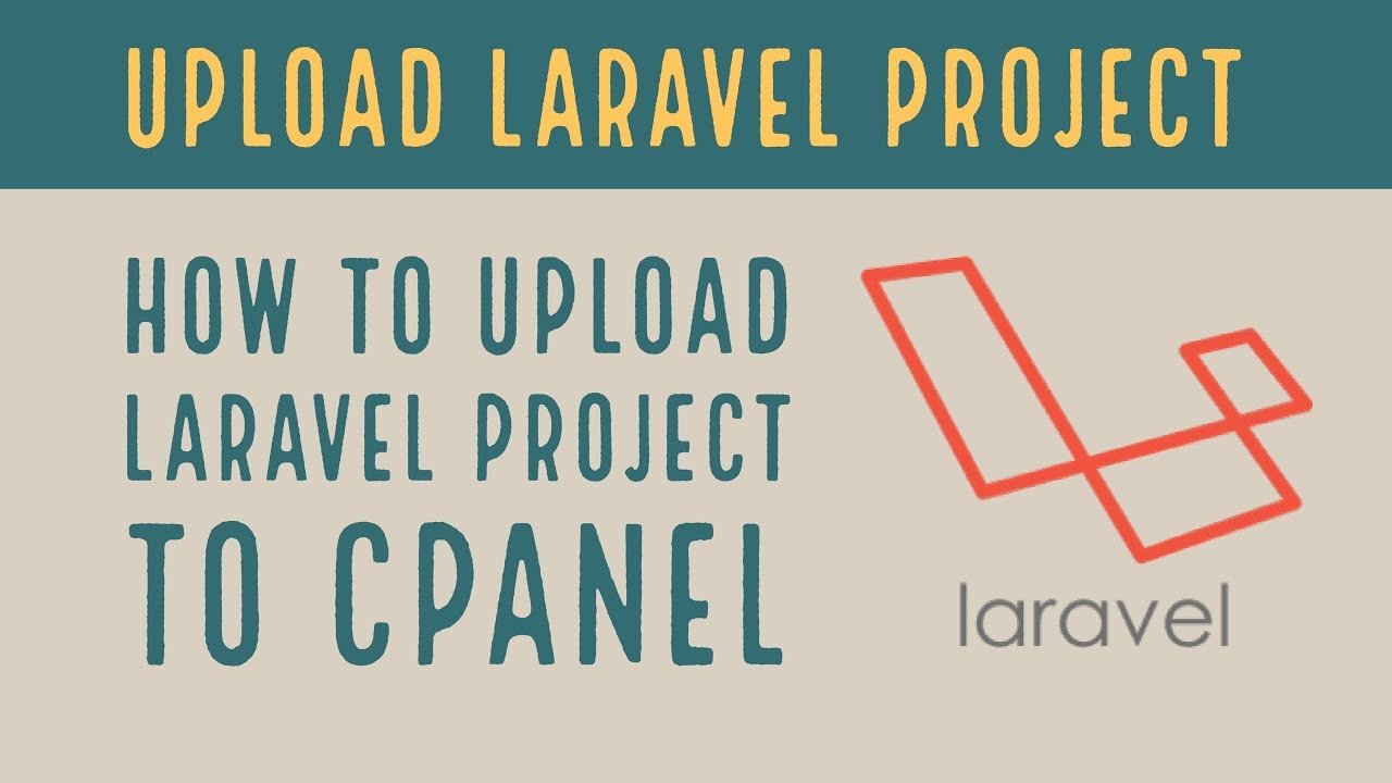 Image for How to upload laravel project in cPanel